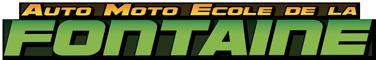 AUTO MOTO ECOLE DE LA FONTAINE Logo