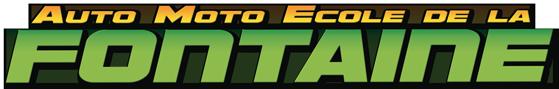 Logo Auto Ecole de la fontaine